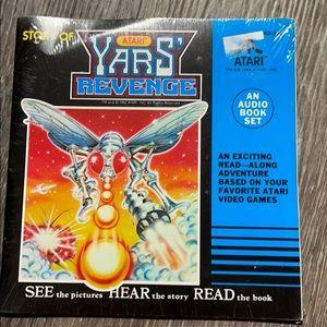 Vintage Atari Yars Record & Read along book NEW